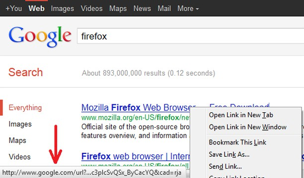 Google search link fix extension - Opera add-ons