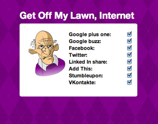 Skjermbilde for Get Off My Lawn