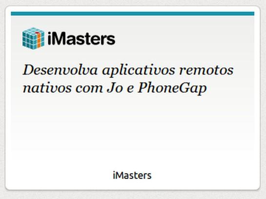 Screenshot for iMasters