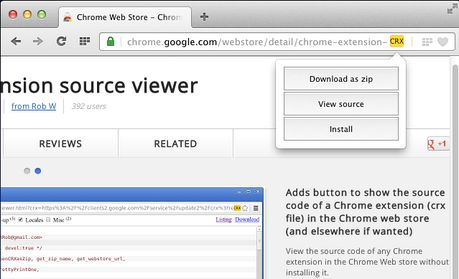 Extension source viewer extension - Opera add-ons
