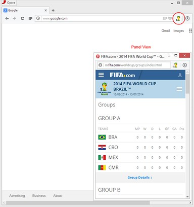 Captura de tela de FIFA™ Panel View