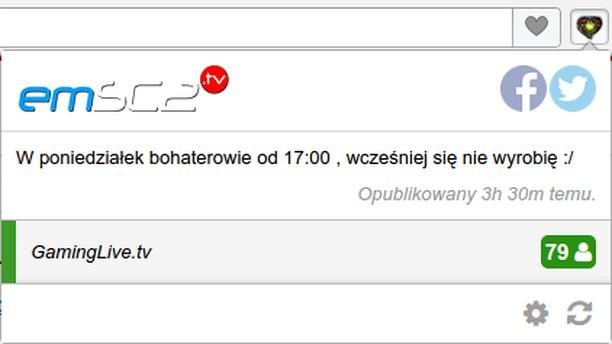 لقطة شاشة Powiadamiacz EmSc2.Tv