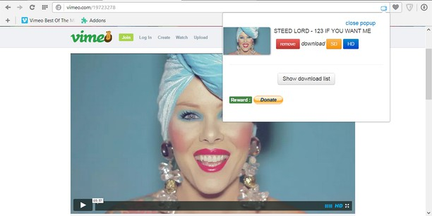 Vimeo™ Videos Downloader extension - Opera add-ons