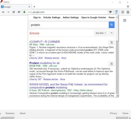 Extenso google scholar complementos do opera miniatura da captura de tela de google scholar stopboris Choice Image