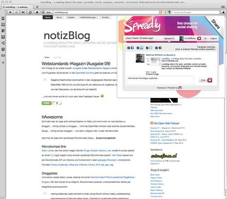 Снимок экрана для Spread.ly