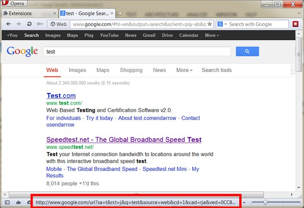 Snímka balíka Straight Google