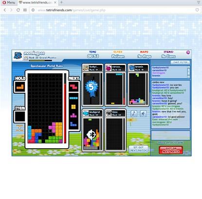 Minimal Tetromino Friends extension - Opera add-ons