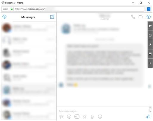 Снимок экрана для App for Messenger™