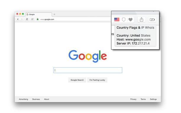 Screenshot untuk Country Flags & IP Whois