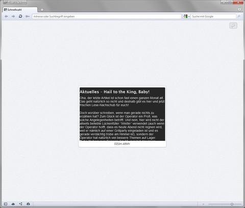 DZGH-ARMY-News 用のスクリーンショット