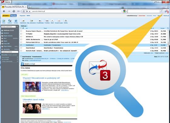 Poczta INTERIA.PL képernyőképe