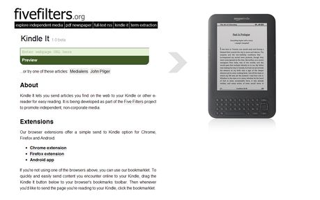 Push To Kindle Extension Opera Add Ons