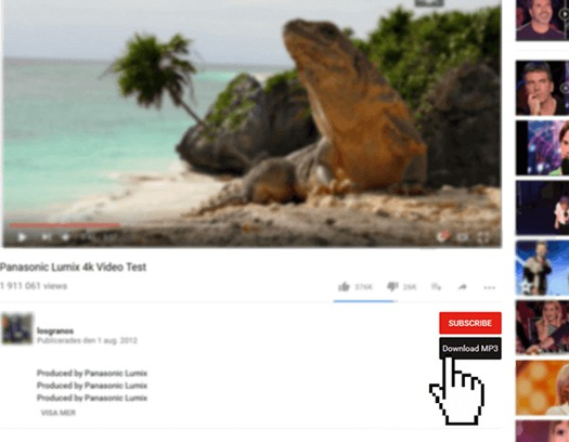 Simple youtube mp3 button extension opera add-ons.