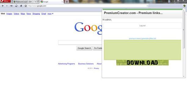 PremiumCreator MiniGen 的螢幕截圖