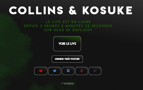 Copie d'écran pour Collins & Kosuke Extension