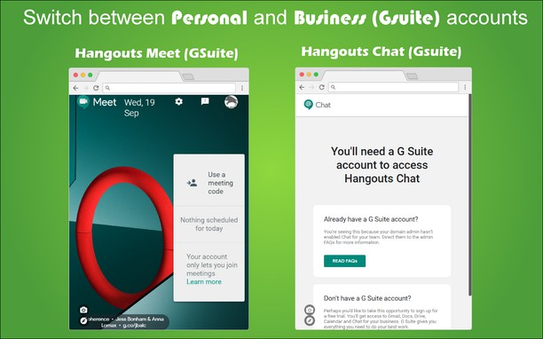 Chat and Meet for Hangouts extension - Opera add-ons