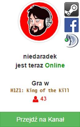 Bildschirmfoto für niedaradek - Live Alerts