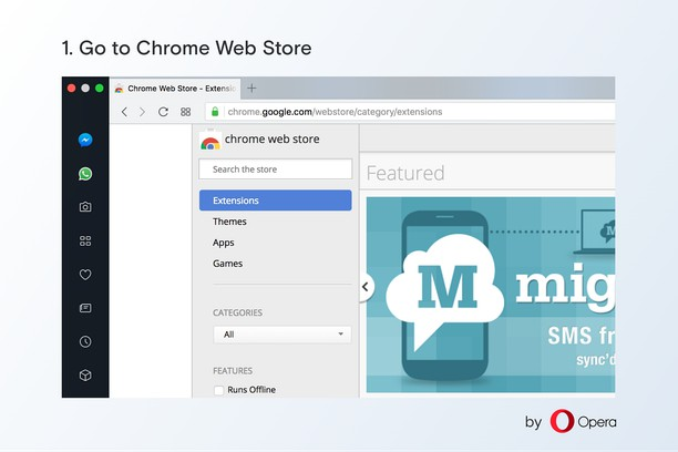 Download And Use Chrome Extensions In Opera Install Chrome