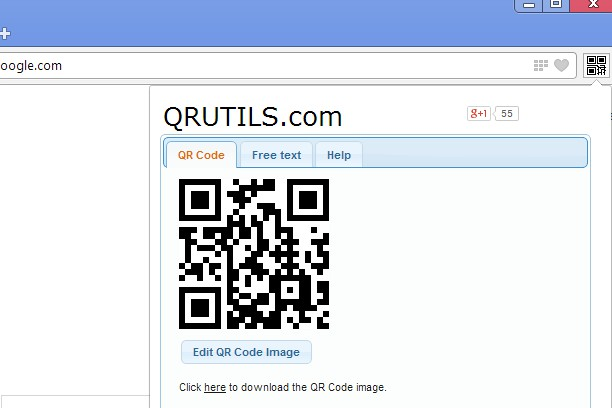 QR Code Generator extension - Opera add-ons