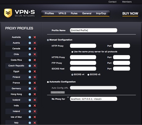 VPN S HTTP Proxy extension - Opera add-ons