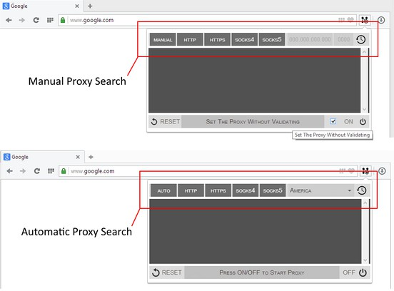 Proxy Finder (IP Switcher) extension - Opera add-ons