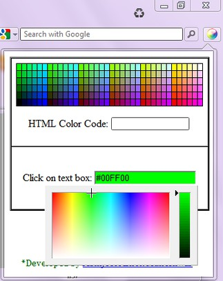 HTML Color Coder extension - Opera add-ons