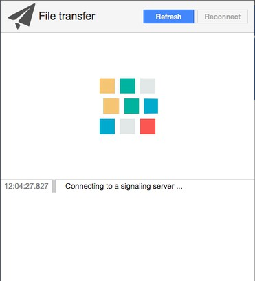 Screenshot for pyGet P2P file sharing