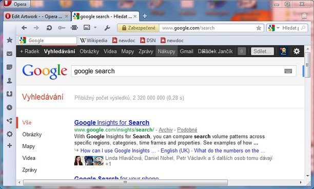 Screenshot untuk Google Search with direct Cached and Similar links