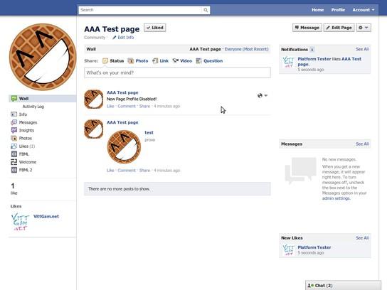 Schermafbeelding voor New Profile Disabler
