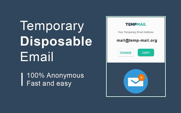 Skjermbilde for Temp Mail - Disposable Temporary Email