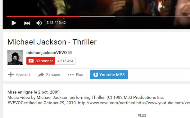 Screenshot for Télécharger YouTube MP3