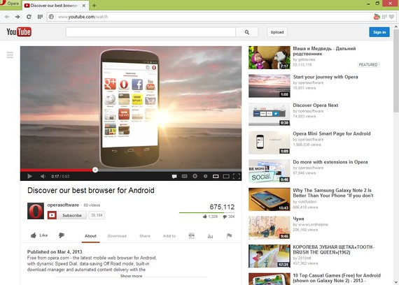 YouTube Downloader extension - Opera add-ons