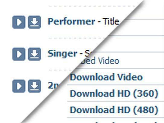 Cómo descargar música, videos y fotos de vk. Com rápidamente y de.