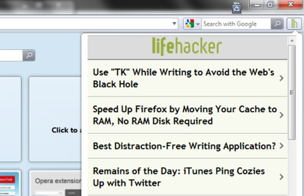 Screenshot untuk Lifehacker Mobile