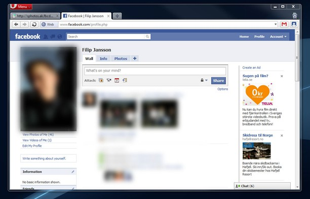 Get Facebook Profile extension - Opera add-ons