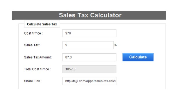 拡張機能 sales tax calculator opera アドオン