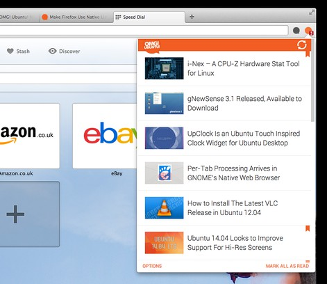 Screenshot for OMG! Ubuntu! for Opera