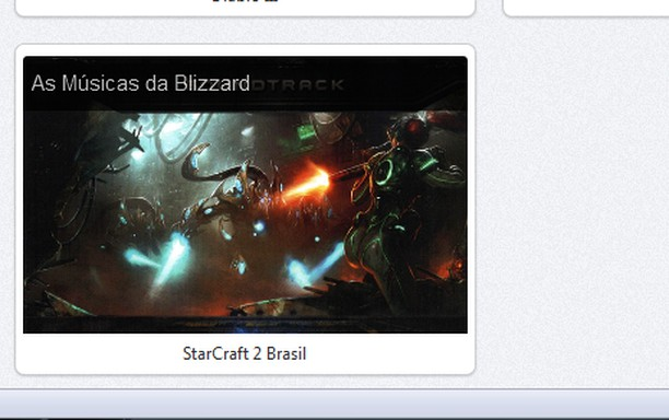 Skjermbilde for As últimas novidades do Starcraft2Brasil