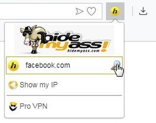 Screenshot for HideMyAss - Free Web Proxy