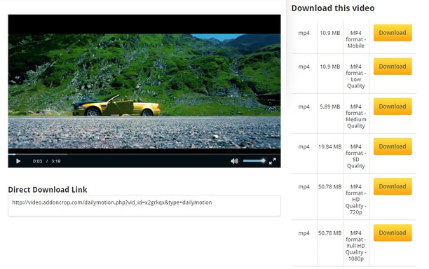 Extenso dailymotion video downloader complementos do opera captura de tela de dailymotion video downloader stopboris Images