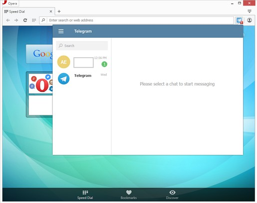 Screenshot untuk Desktop Messenger for Telegram™