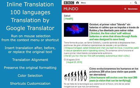 Extensión Google Translate Complementos De Opera