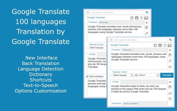 Estensione Google Translate Opera Add On