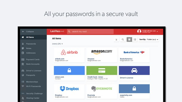 LastPass extension - Opera add-ons