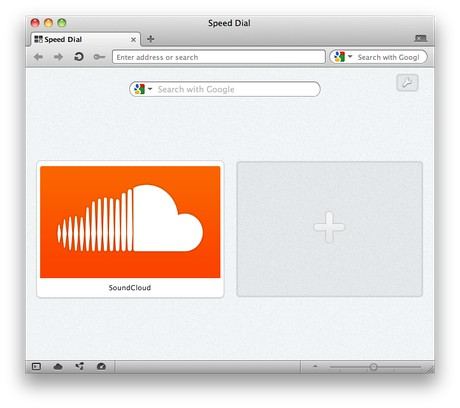 SoundCloud extension - Opera add-ons