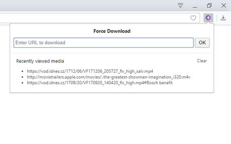 Force Download extension - Opera add-ons
