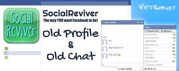 Screenshot for SocialReviver