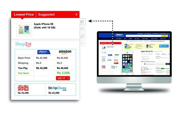 Captura de pantalla para ShopZoi