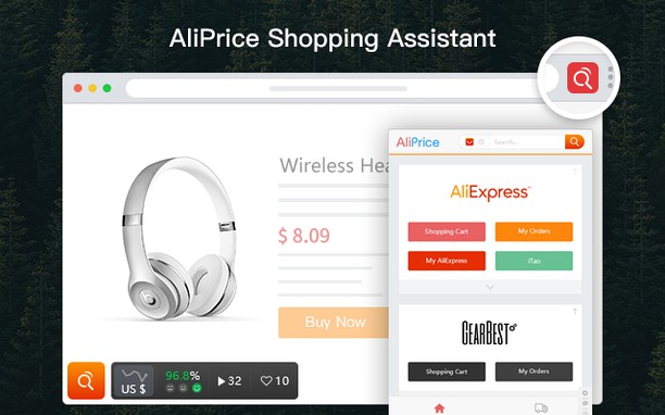 Aliexpress Shopping Assistant extension - Opera add-ons
