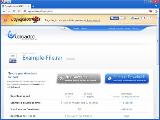 Captura de pantalla para Conexão Mega